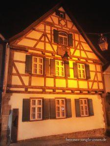 Schillers Geburtshaus in Marbach